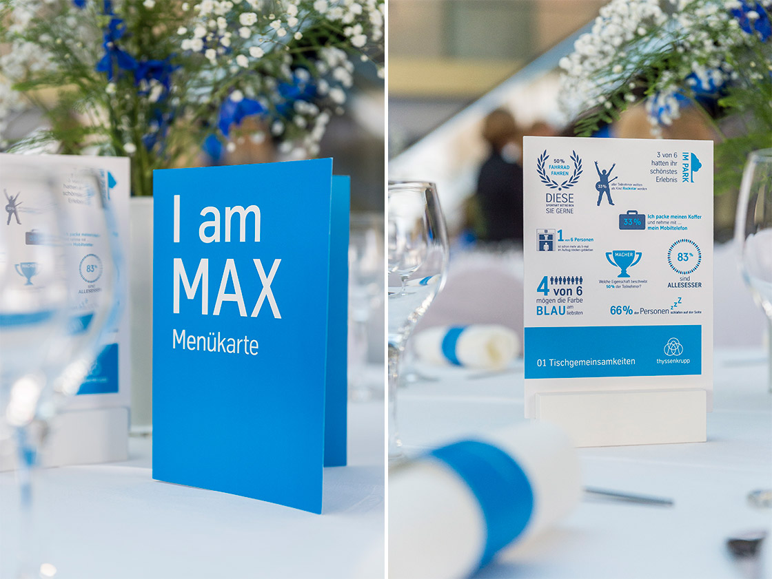 "HYBRID & LIVE COMMUNICATION Referenz - thyssenkrupp - ""Hello, I am MAX!"""